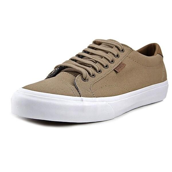 001a28b65e2b9e Shop Vans Court (C L) Men Round Toe Canvas Tan Sneakers - Free ...