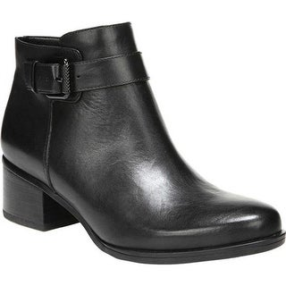 Naturalizer Women's Dora Bootie Black Leather