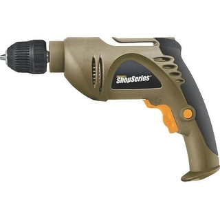"""Rockwell Shop Series RC3031K VSR Electric Drill 3/8"""" - 4.5 Amp"""