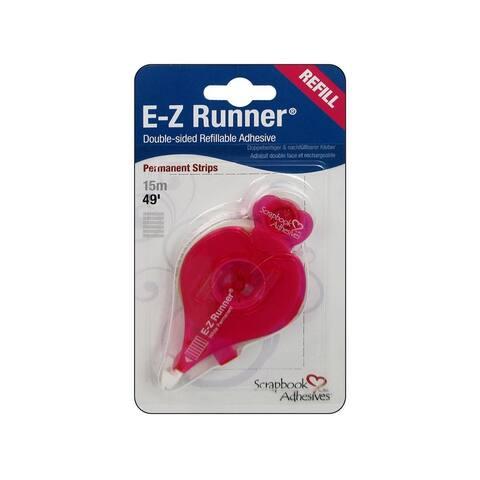 01201-6 3l scrapbk adh ez runner perm refill 49