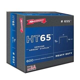 """Arrow 65S Extra Heavy Duty HT65 Staples, 3/4"""""""