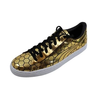 pretty nice 437f0 66de9 Puma Men s Basket Classic Metallic Gold nan 361102 01