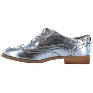 Wanted Shoes Womens Babe Cap Toe Oxfords
