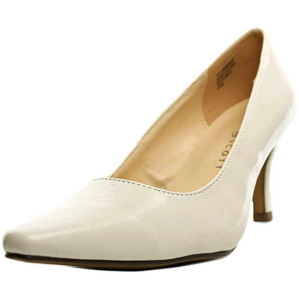 f5ac07a1fa9d Shop Karen Scott Clancy Women Pointed Toe Synthetic White Heels ...