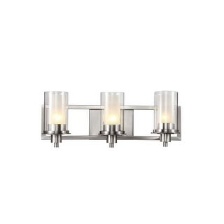 Trans Globe Lighting 20043 3 Light Bathroom Fixture from the Modern Meets Traditional Collection