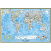 National Geographic RE00622005 World Classic Map