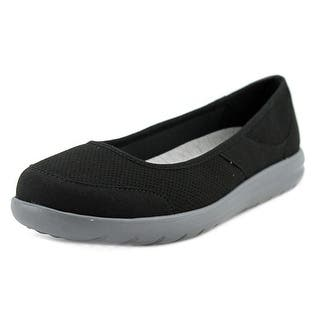 Clarks Jocolin Myla Women N/S Round Toe Canvas Flats|https://ak1.ostkcdn.com/images/products/is/images/direct/6e9e45f192be1c6adcd04713d3060416181631cb/Clarks-Narrative-Jocolin-Myla-Women-N-S-Round-Toe-Canvas-Flats.jpg?impolicy=medium