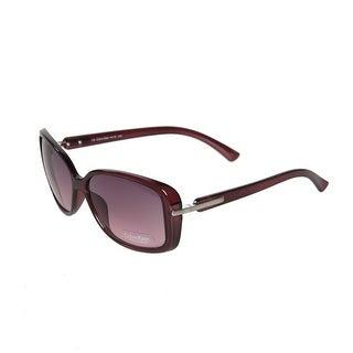 Calvin Klein Rectangular Sunglasses - Purple