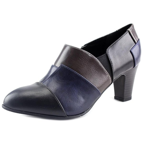 New York Transit Complete Look Women Round Toe Synthetic Bootie