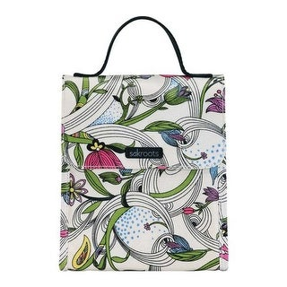 Sakroots Women's Artist Circle Flap Lunch Bag White Peace Dove - US Women's One Size (Size None)