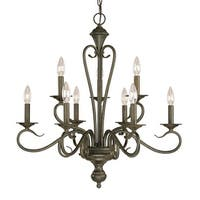 Millennium Lighting 519 Devonshire 9-Light Two Tier Chandelier
