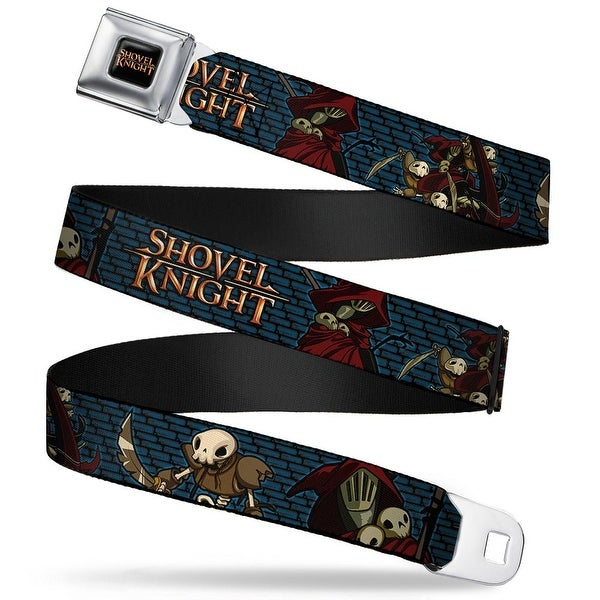 Shovel Knight Full Color Black Gold Shovel Knight Specter Knight Poses Seatbelt Belt