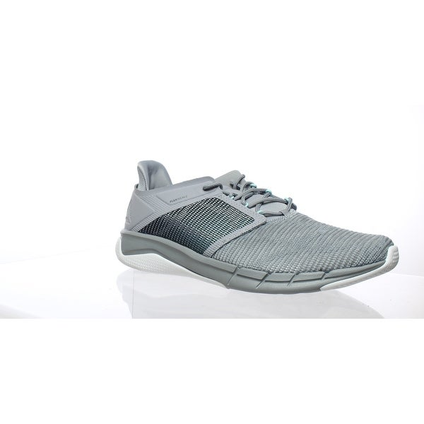 new style 4a559 4a89a Reebok Womens Fast Flexweave Gray Running Shoes Size 9.5
