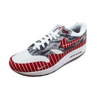 Nike Men's Air Max 1 Latino History Month White/University Red Los Primeros AH7740-100
