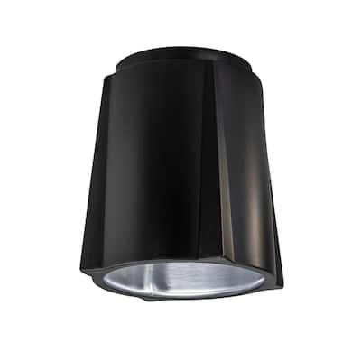 Justice Design Radiance Compass Ceramic Flush-Mount Light