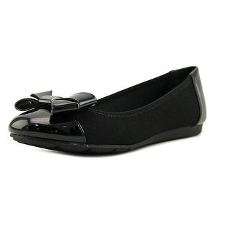 Anne Klein Sport Alina Women  Round Toe Synthetic Black Flats