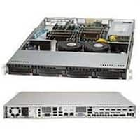Supermicro SuperChassis  600W 1U Rackmount Server Chassis - Black