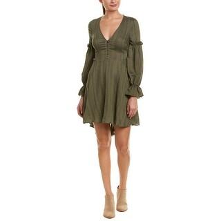 Bcbgmaxazria Peasant A-Line Dress