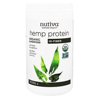 Nutiva Hemp Protein & Fiber Powder 16-ounce