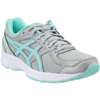 868c4e1a2 ASICS Womens Jolt Running Shoe Fabric Low Top Lace Up Running Sneaker