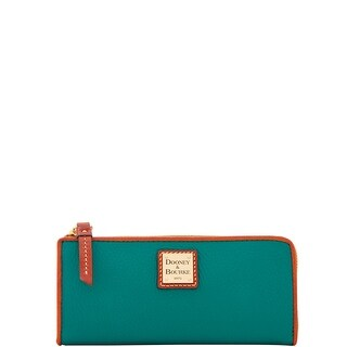 Dooney & Bourke Pebble Grain Zip Clutch Wallet (Introduced by Dooney & Bourke at $128 in Apr 2018)