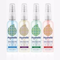 Aquinelle Toilet Tissue Mist, Simply Spray On Folded Toilet Paper, 3.25 OZ Travel Size, 4-Pack