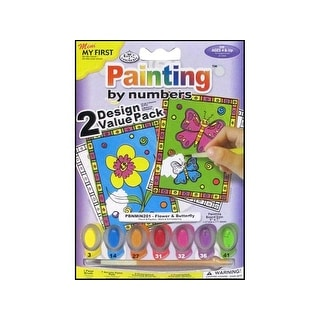 Royal Paint By Number My First Flower & Butterfly