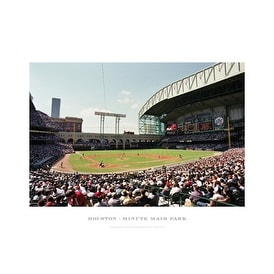 ''Houston, Minute Maid Park'' by Ira Rosen Photography Art Print (13 x 19 in.)
