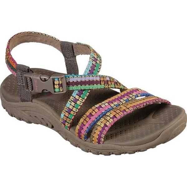 Reggae Sew Me Active Sandal Taupe/Multi