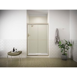 "Kohler K-702208-L Fluence Frameless Bypass Shower Door with Crystal Clear Glass - 70-5/16"" H x 47-5/8"" W"