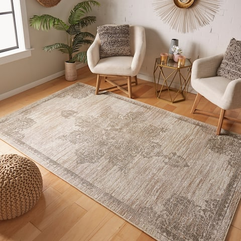 Mohawk Home Everson Traditional Medallion Area Rug