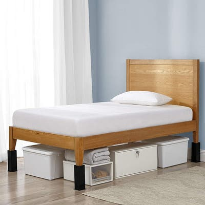 """Carbon Steel Bed Risers - 8"""" Lift"""