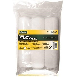 """Hyde 98031-US Richard Value Series Microfiber Roller Covers, 9"""""""