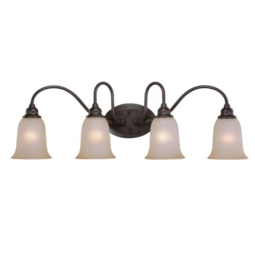 Craftmade 26304 linden lane 4 light bathroom vanity light 33 inches wide free shipping today overstock com 22782148