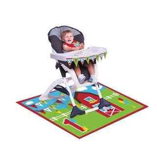 Pack Of 6 Farmhouse Fun Happy Birthday High Chair And Floor Party Kit