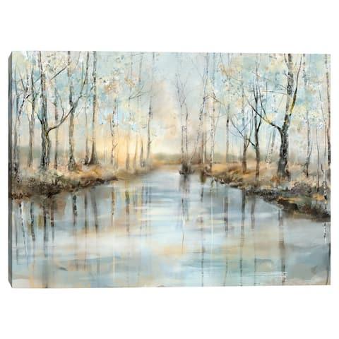 Calm Reflections II by Studio Arts Canvas Art Print