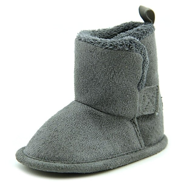 Gerber Baby Boot Infant Round Toe Synthetic Gray Winter Boot