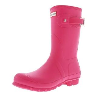 Hunter Women's Original Short Mid-Calf Rubber Rain Boot