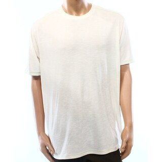 Tommy Bahama NEW Coconut Beige Mens Size Small S Crewneck Tee T-Shirt