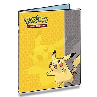Ultra Pro Pokemon Card Binder featuring Pikachu 9 Pocket Album Portfolio
