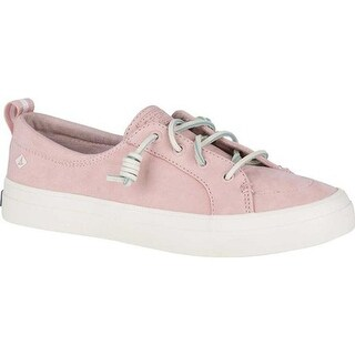 Sperry Top-Sider Women's Crest Vibe Sneaker Rose Dust Leather