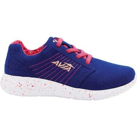 Avia Girls' AVI-Kismet Sneaker Clematis Blue/Fuchsia Purple/Desert Flower