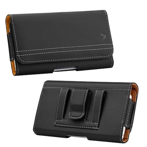 Pouch Belt Holster Wallet Cover for Google Pixel 4, Moto G8, OnePlus 8