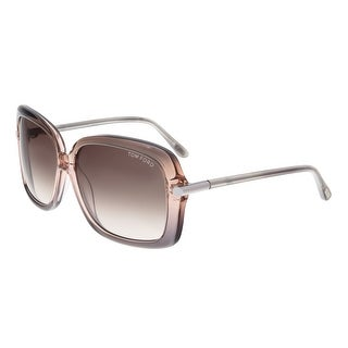 Tom Ford FT0323 74F PALOMA Lilac Gradient Square Sunglasses - 59-14-135