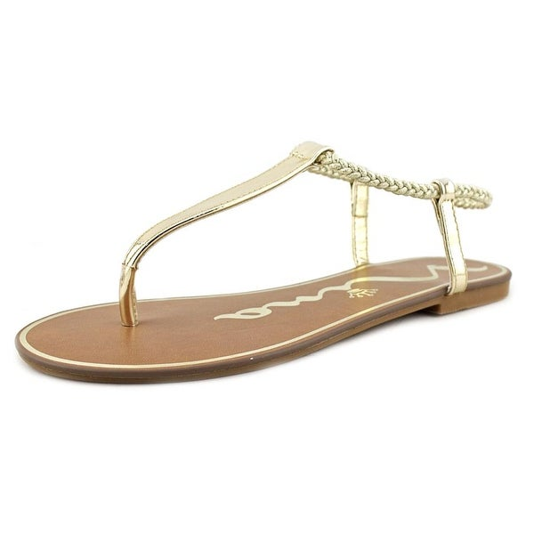 Nina Jonni Women Platino Metallic Sandals
