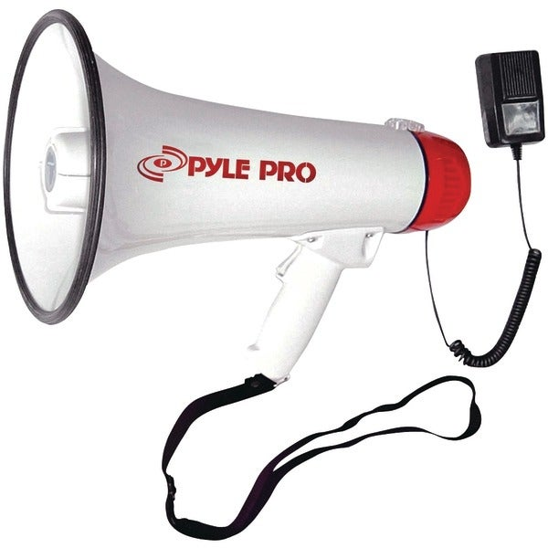 PYLE PRO PMP40 Professional Megaphone/Bullhorn with Siren & Handheld Microphone