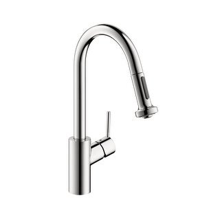 Hansgrohe 4286 Talis S Pull-Down Prep Faucet with High-Arc Spout, Magnetic Docking, & Non-Locking Sp (2 options available)