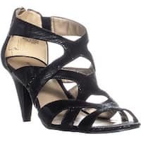 Bandolino Daenyn Heeled Sandals, Black - 6.5 us