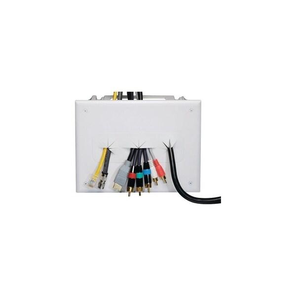 Datacomm Electronics DCM450010WHW DATACOMM ELECTRONICS 45-0010-WH Recessed Media Box