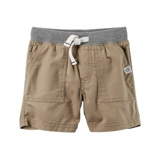 Carter's Baby Boys' Pull-On Twill Shorts, 6 Months